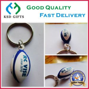 Custom Logo Key Ring Cheap PVC Keychain pictures & photos