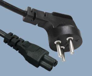 Israel Prong Plug To Iec C Power Cord