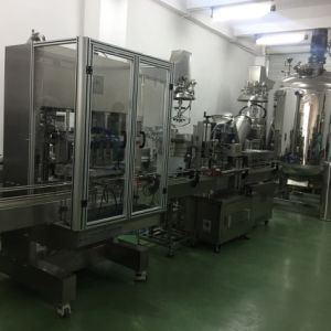 Fully Automatic Machine for Liquid Soap Filling and Capping pictures & photos