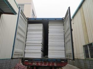 Popular Exporting EPS Sandwich Panels for Building Materials/Prefab House pictures & photos