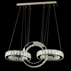 Modern Crystal Chandelier Lighting Decorative Led Pendant Light