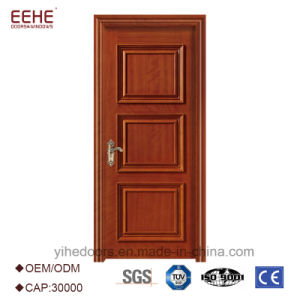 China Modern House Wooden Single Main Door Design Front Door