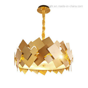 Brass Chandelier Pendant Lights Stainless Steel Decoration Lamp