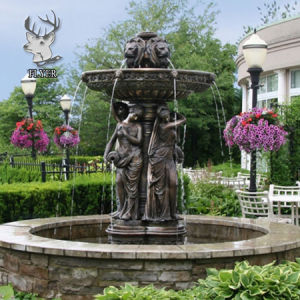 Outdoor Garden Decoration Large Bronze Water Fountain For Sale