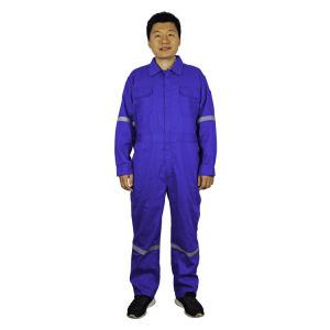 Fashion Safety Flame Retardant Protective Coverall Workwear Clothing