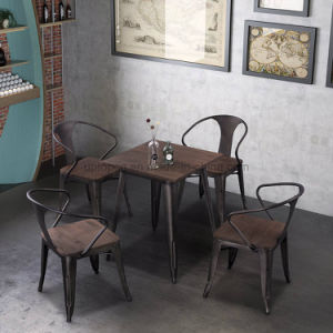 Antique Tolix Table And Chairs Cafe Furniture Sets (SP CT860)