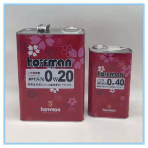 1L and 4liters Empty Tin Can for Packaging Motor Oil