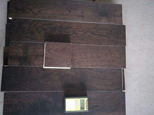 Dark Stained Oak Hardwood Flooring