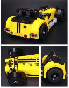 810PCS Plastic ABS Building Bricks Toy Car for Kids pictures & photos