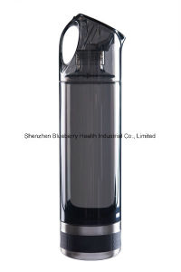 Hydrogen Water Bottle with Minim Titanium Plates to Produce High Negative Potention and Hydrogen