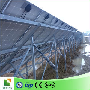 Ground Solar Mounting Bracket with Ground Pile