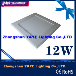 Yaye Hot Sell 12W Square LED Panel Light with CE/RoHS/UL/Saso pictures & photos