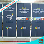 Durable Roll up Banners Economic Roll up Stands