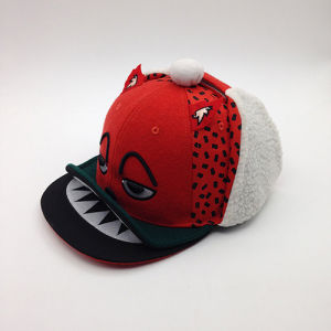 China New Fashion Unique Cartoon Children Snapback Winter Cap with ... ef3000a6a06