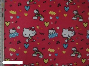 Cat Printing Polyester 600d Fabric for Bags! pictures & photos