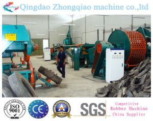 Rubber Powder Recycling Production Machine Waste Tyre Recycling Machine