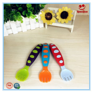Food Grade Plastic Fork for Nursing Baby pictures & photos