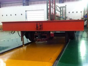 Heavy Duty Kpj Series Electric Transfer Cart on Rails pictures & photos