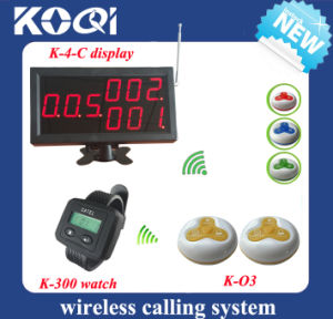Wireless Restaurant Electronic Call System in 433.92MHz with CE pictures & photos