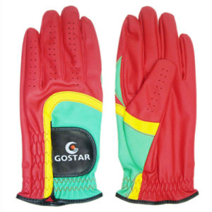 2015 New Style PU Synthetic Leather All Weather Golf Glove (PGL-44) pictures & photos