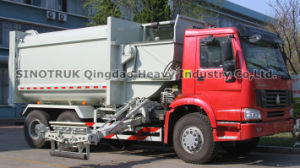 Garbage Bin Truck (ZZ3257M3847C) pictures & photos
