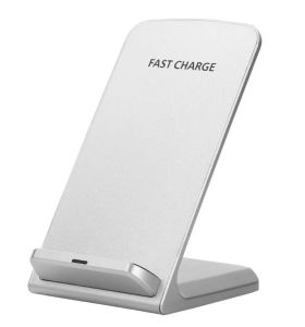 Desktop Vertical Wireless Portable Charger with Battery Power Supply