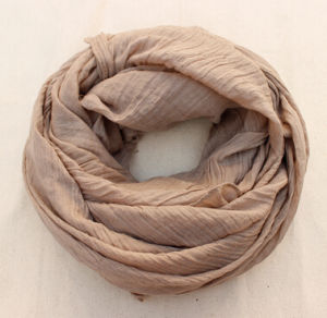 Colourful Silk Cotton Wool Linen Spring Autumn Scarf pictures & photos