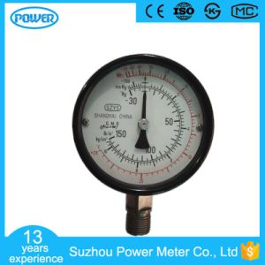 100mm Black Steel Case High Quality Ammonia Pressure Gauge pictures & photos
