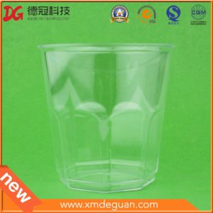 220ml Disposable Transparent PS Airline Plastic Cup
