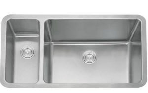 Kitchen Sink, Double Stainless Steel Sink (D02) pictures & photos