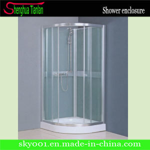 Prefabricated Cheap Small Fiberglass Freestanding Glass Shower Enclosure (TL-526) pictures & photos
