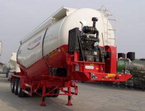 Cimc 3 Axle 27m3 Cement Semi Trailer