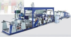 Double Side Extrusion Lamination Coating Machine, Double Side PE Coating Machine (SJFM 1100B-1800B) pictures & photos