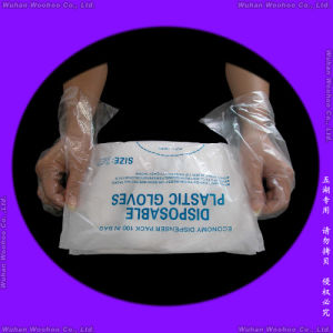 Disposable Food Grade PE Gloves pictures & photos