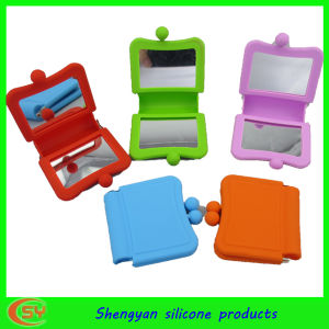 Make up Silicone Mirror with Cover by Shengyan Design