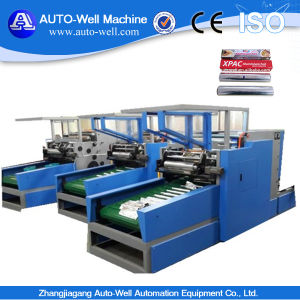 Aluminium Foil Roll Rewinding and Cutting Machine pictures & photos