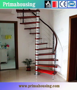 Prima Spiral Staircase Stainless Steel Stairs (PR-2033) pictures & photos