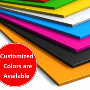 China PMMA Color Acrylic Sheet for Billboard Decoration - China ...