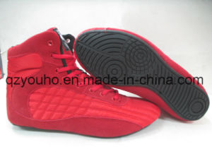 e9493bad61df5b China High Top Gym Shoes Mens Weight Lifting MMA Bodybuilding Shoes ...