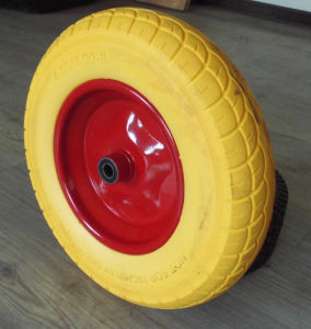 3.5-8 PU Foam Wheel
