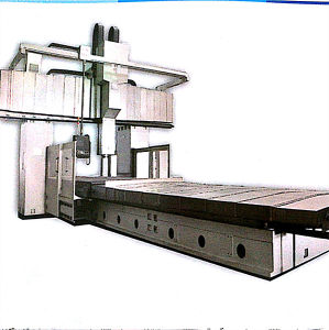 CNC Fixed Beam Working Table Moving Type Milling Machine pictures & photos