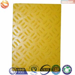 Yellow FRP Anti Slippery Embossed Sheets pictures & photos