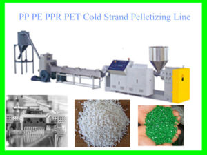 Hot Sale Cold Strand Plastic Pelletizing Line with CE pictures & photos