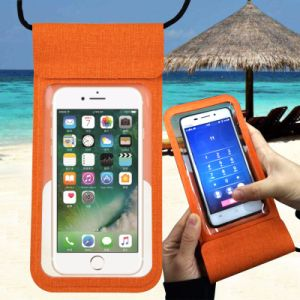 Pu Waterproof Cellphone Bag Universal Pouch For Swimming