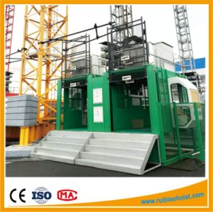 Factory Price Gjj Sc200/200 Double and Single Cage Passenger Hoist pictures & photos