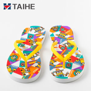 744041723 Comfortable EVA Flip Flops Custom Printed Slippers From China ...