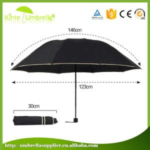 Middle Quality Custom Advertisement 3 Folded Umbrella Parts
