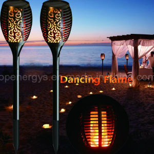 Solar Power Garden Yard Lawn Pathway Halloween LED Torch Light Lamp pictures & photos