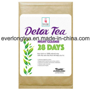 100% Organic Herbal Wellness Detox Tea Skinny Tea Weight Loss Tea (Night Cleanse Tea 28day Infusions) pictures & photos