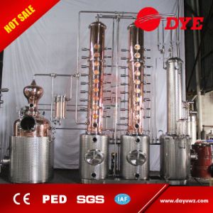 Vodka, Whiskey, Brandy, Rum Distillery Copper Distillation Equipment